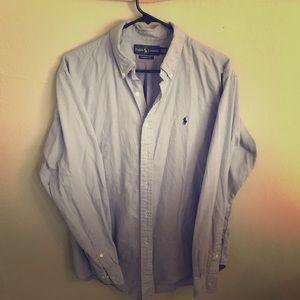 Blue Ralph Lauren dress shirt